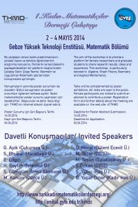 I.KadinMatematikçilerÇalşıtayı-poster
